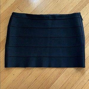 Haute Hippie Black Bandage Skirt